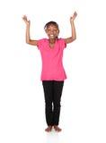 逗人喜爱的非洲女孩 图库摄影