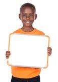 逗人喜爱的非洲男孩 库存照片