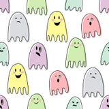 逗人喜爱的鬼的鬼魂 库存照片