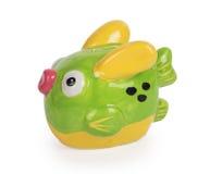 逗人喜爱的鱼银行 免版税库存照片