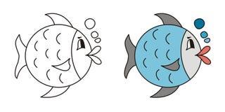 逗人喜爱的鱼 免版税库存图片