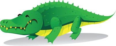 逗人喜爱的鳄鱼 库存例证