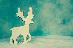 逗人喜爱的鹿形象 库存照片