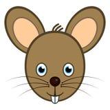 逗人喜爱的鼠标 免版税库存图片