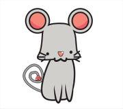 逗人喜爱的鼠标 免版税库存照片