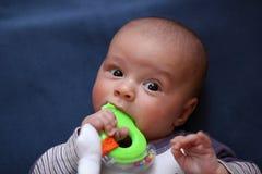 逗人喜爱的婴儿 免版税库存图片