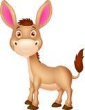 逗人喜爱的驴动画片 库存照片