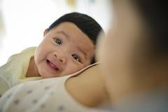 逗人喜爱的婴孩 库存图片