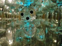 逗人喜爱的水晶熊 库存照片
