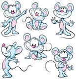 逗人喜爱的mouses 皇族释放例证