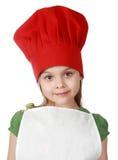 逗人喜爱首要的厨师一点 免版税库存图片