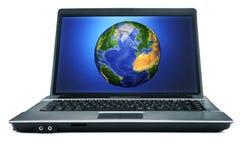 通信万维网宽世界 免版税图库摄影
