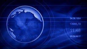 通信和新闻的抽象背景 股票录像
