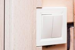 通信在便利和舒适的一个私有房子里 库存照片