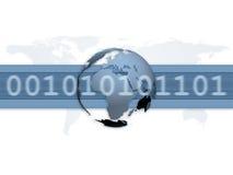 通信数字式宽世界 皇族释放例证