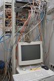 通信服务器部件 免版税库存照片