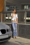 通信移动电话 免版税图库摄影