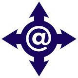 通信符号 免版税图库摄影