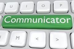 通信装置-信息概念 皇族释放例证