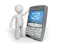 通信装置 向量例证