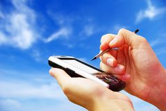 通信装置 免版税图库摄影