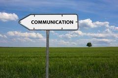 通信-与词与题目通讯技术相关,词,图象,例证的图象 库存照片