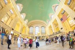 通勤者的全天相镜头图片行动的由著名时钟 图库摄影