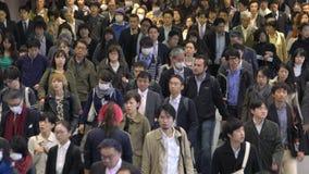 通勤者,东京, 股票视频