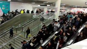 通勤者仓促 股票视频
