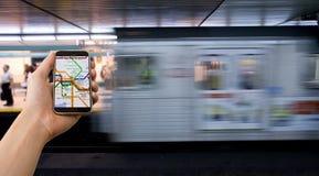 通勤高技术 图库摄影