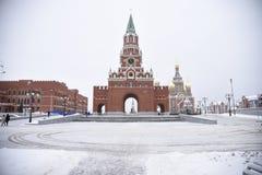 通告塔在约什卡尔奥拉 免版税库存照片