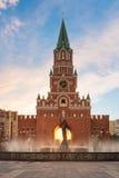 通告塔 约什卡尔奥拉市 俄国 免版税库存照片