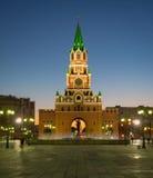 通告塔 约什卡尔奥拉市 俄国 免版税库存图片