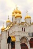 通告教会 克里姆林宫莫斯科 联合国科教文组织遗产 免版税库存图片