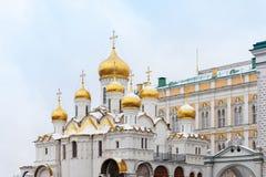 通告的大教堂在克里姆林宫,俄罗斯 库存图片