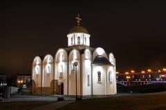 通告的教会。 免版税库存照片