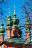 通告的教会在17世纪建造在雅罗斯拉夫尔市,俄罗斯 免版税库存照片