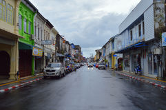 通常亚洲人街道每普通的天 免版税库存图片