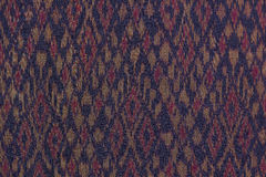 通常泰国丝绸编织的纺织品 图库摄影