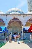 通往清真寺,安塔利亚的道路 图库摄影