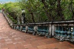 通往盛大宫殿的台阶道路 库存图片