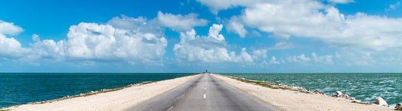 通往科科岛的道路 库存照片