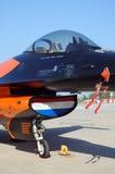 通用动力公司F-16猎鹰 免版税库存图片