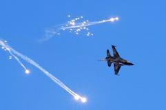通用动力F-16战斗猎鹰 库存照片