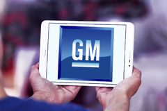 通用汽车公司, GM商标 免版税库存照片
