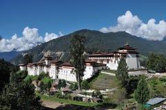 通萨Dzong,通萨,不丹 库存照片