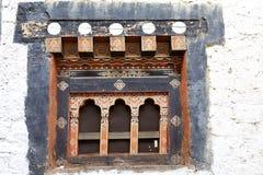 通萨Dzong,通萨,不丹 免版税库存照片