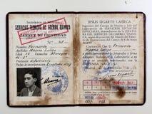 通行证化学战技术支持 民用西班牙战争 库存图片
