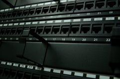 通讯网络面板 图库摄影
