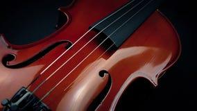 通过小提琴乐器 影视素材